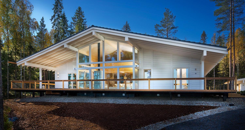 maisons et chalets en bois massif de polar life haus. Black Bedroom Furniture Sets. Home Design Ideas